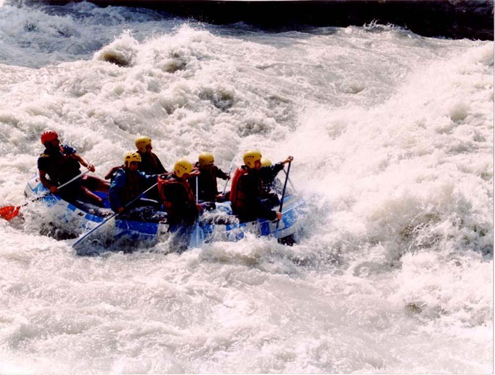 Rafting dora Baltea