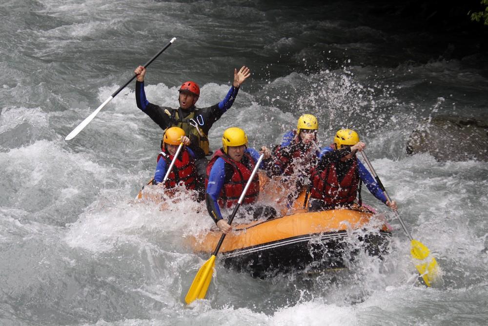 Rafting giffre